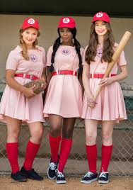a league of their own costume women s plus size deluxe dottie costume from a league of their own