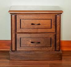 bedroom nightstand bernhardt nightstands brown cherry nightstand