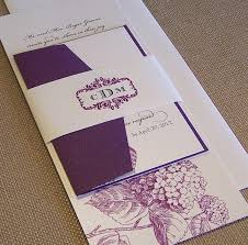 purple wedding invitations purple wedding invitation bitsy