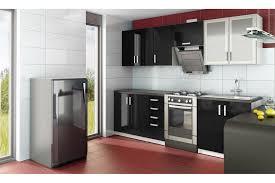 cuisine noir laqué pas cher cuisine complete sur mesure cuisine complete noir laque meubles