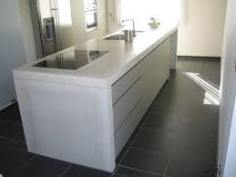 plan de travail cuisine beton la robustesse d un plan de travail en béton cuisine livios
