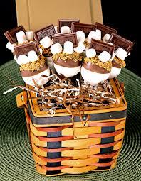 cupcake gift baskets s mores cupcake pop basket