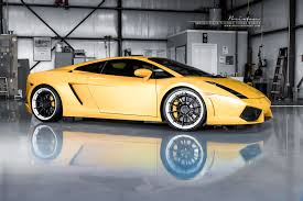 Lamborghini Murcielago Yellow - lp540 lp640 brixton forged wheels