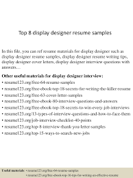 How To List Job Experience On Resume by Resume Display Free Resume Example And Writing Download