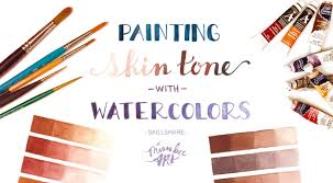 painting skin tone with watercolors melissa lee shaw skillshare