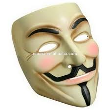 most popular halloween anonymous mask wholesale fancy dress guy