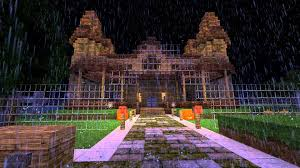 minecraft haunted house halloween special download in