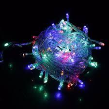 220v eu tree led light string starry sky home curtain