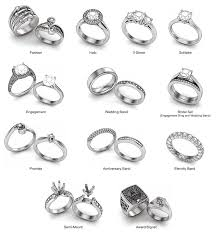 types of wedding ring different ring styles jewelry technical journal