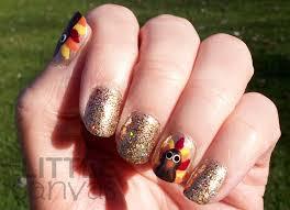 happy thanksgiving turkey nail the canvas