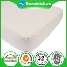 Bed Bug Crib Mattress Cover Washable Bed Bug Quilted Baby Waterproof Bamboo Crib Mattress
