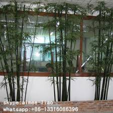 q091129 made in china indoor ornamental plants artificial bamboo