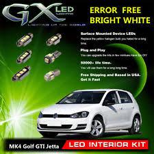 interior lights for volkswagen golf ebay
