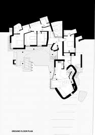 architecture fishing lodge ground floor plan