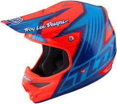 yellow motocross helmets troy lee designs d3 mips carbon render blue yellow motocross