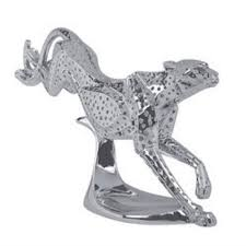 shaze silver plated running cheetah for home decor by shaze luxury