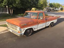 Old Ford Truck Games - 1969 ford f 250 wrapped around a crown victoria u2013 engine swap depot