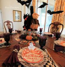 halloween table decor whimsical spooky halloween table decoration
