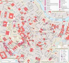 Map Of Vienna Vienna Map Ringstrasse U0026 Downtown Map Of Main Attractions Best