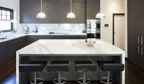 cuisine en marbre idées décoration de cuisines et de salles de bain en marbre