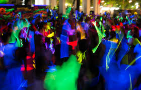 black light party ideas decorating awesome new years theme black light party ideas
