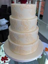 it u0027s all in the details creating a lace effect wedding cake