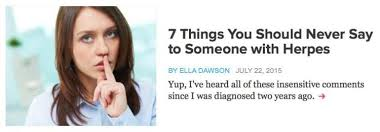 Challenge Wrong Herpes Why We Need Clicky Accessible Herpes Writing Ella Dawson