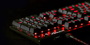 light up wireless keyboard alloy fps mechanical gaming keyboard hyperx