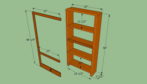 How To Design A Bookshelf by Wonderful Free Plans For Building A Bookcase 84 Plans To Build A
