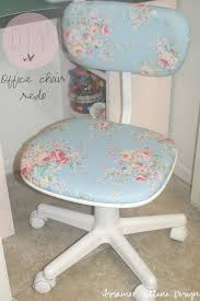 Diy Desk Chair Diy Shabby Chic Office Chair Redo All You Need Is A Floral
