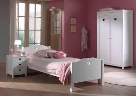 chambre fille et blanc chambre fille moderne