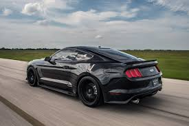 Mustang Boss Horsepower Hennessey U0027s 800 Hp Ford Mustang Murdered Out To Celebrate 25th