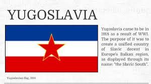 Slavic Flags E Sim Yugoslav Embassy In International