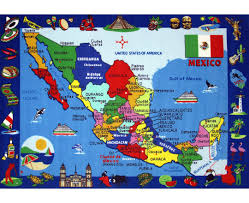 Tijuana Mexico Map Maps Of Mexico Detailed Map Of Mexico In English Tourist Map