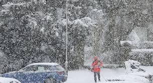 Snow Scotland White Hell As Arctic Blast Brings Scotland To A Shuddering Halt As