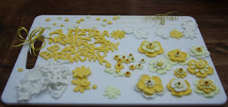 50th birthday cakes 50th birthday cake with yellow flowers lovinghomemade