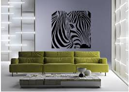 Animal Print Wall Decor Zebra Wall Stickers And Decals To Decorate A Zebra Print Wall