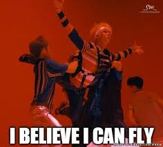 I Believe I Can Fly Meme - i believe i can fly meme center nct and kpop