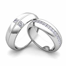wedding bands for him and build comfort fit wedding bands for him and with diamond gemstone