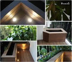 le de terrasse encastrable terrasse bois exotique ipe 16 eclairage spot déco