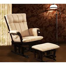 Glider Chair With Ottoman Pleasing Glider Chair And Ottoman On Mid Century Modern Chair With