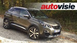 peugeot 3008 review review peugeot 3008 2016 by autovisie tv youtube