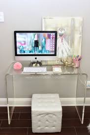 best 25 glass desk ideas on pinterest glass office desk clear