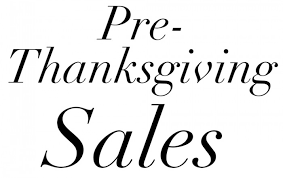 get a start on black friday 2015 with all the sales you can