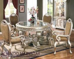 silver dining room table set steve espresso velvet chairs mango