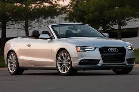 audi a5 coupe used used 2015 audi a5 convertible pricing for sale edmunds