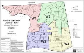Map Of Newark Nj Belleville Ward And Election District Map Essex Watch