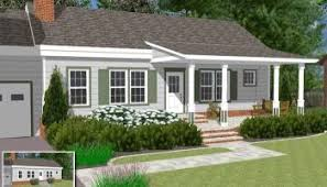 front sloping lot house plans home planning ideas 2017