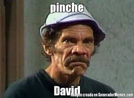 Memes De David - pinche david meme de el don ramon memes generadormemes