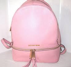 light pink michael kors bag michael kors pale pink backpack mkoutlet